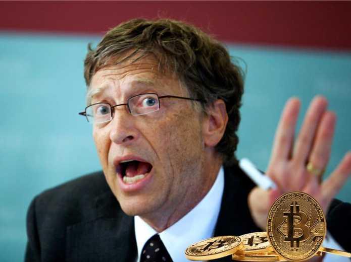 Билл Гейтс против анонимности на крипторынке