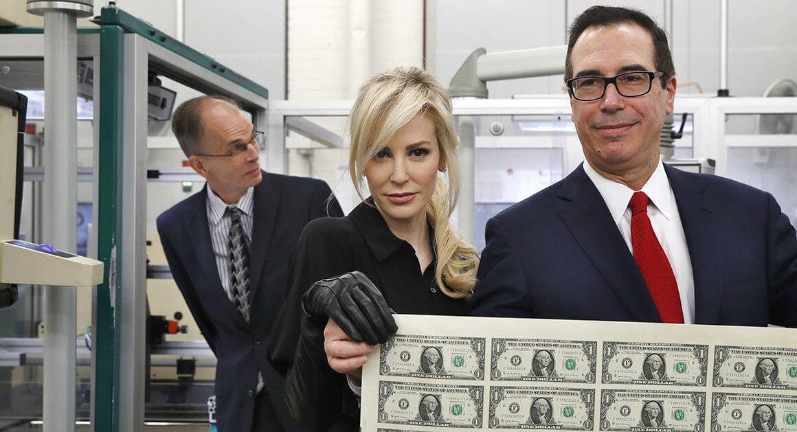 Мнучин доллар США инфляция
