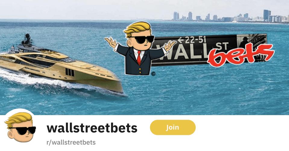 WallStreetBets Реддит инвестиции