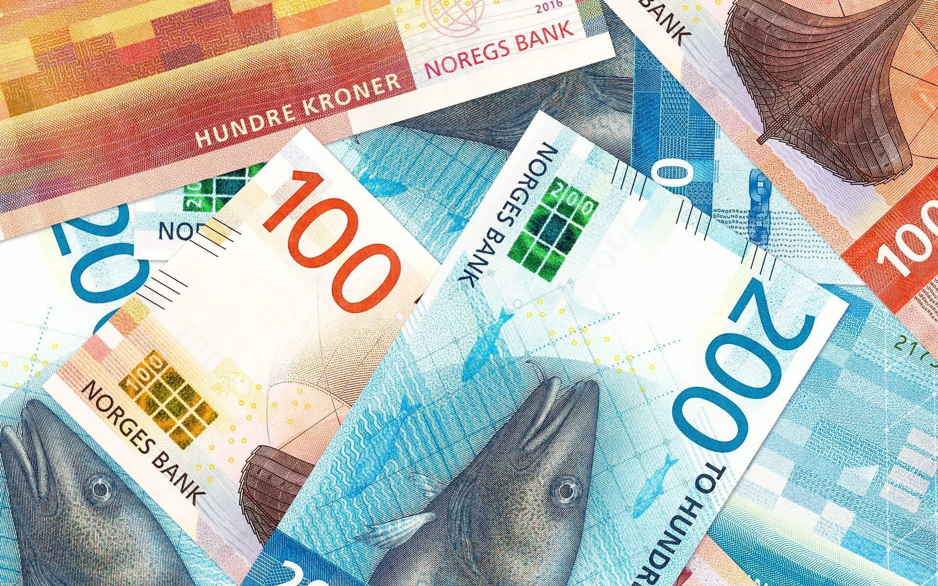 кроны валюта Норвегия