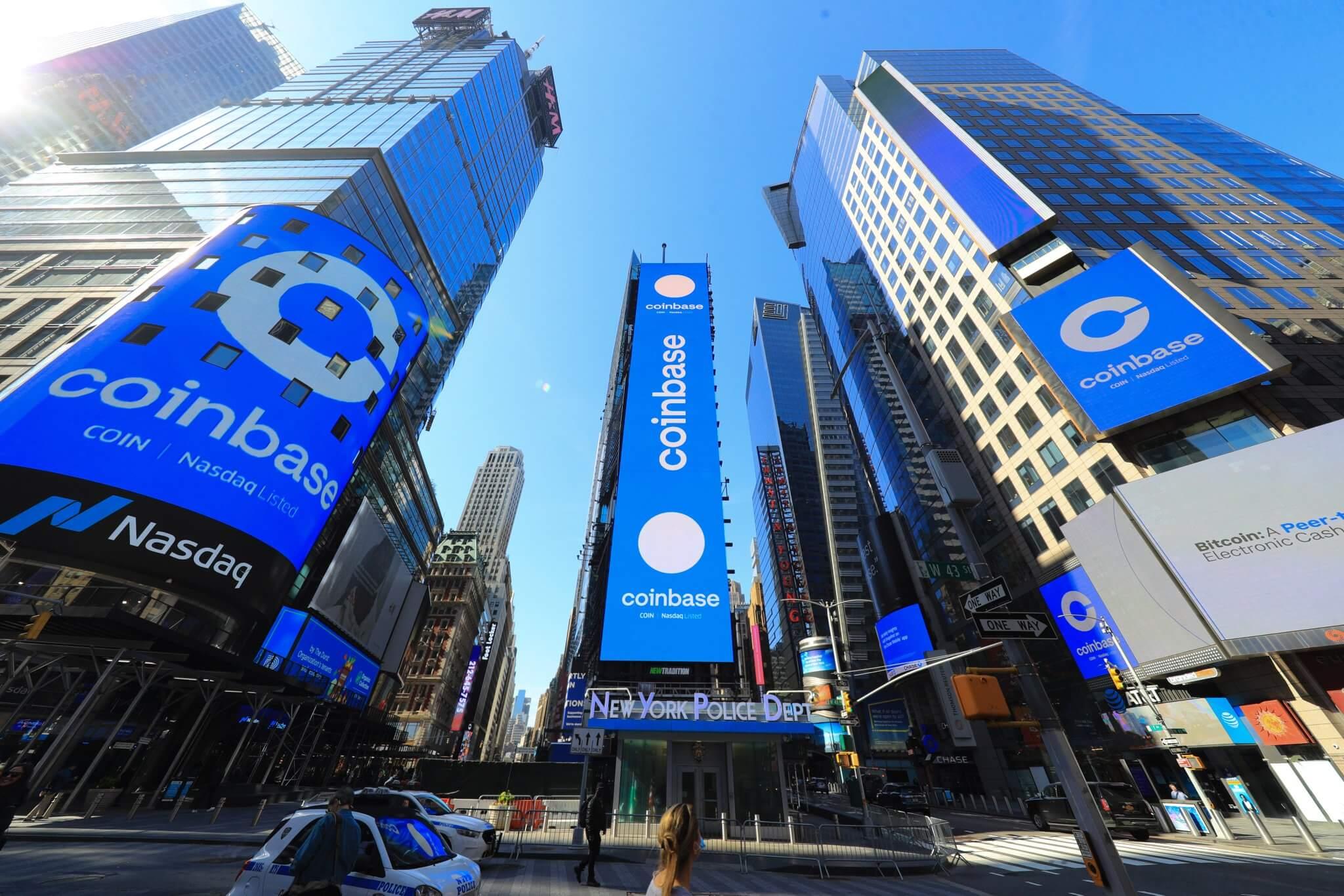 Coinbase Манхэттен