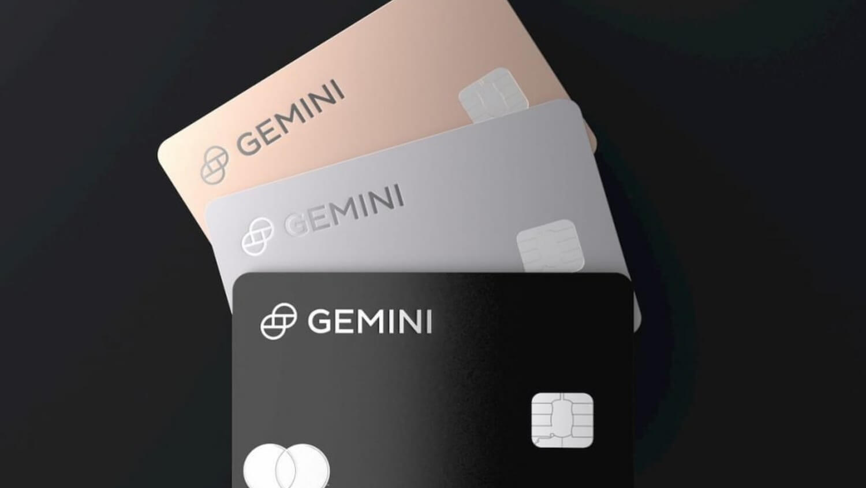 карта блокчейн криптовалюты Gemini