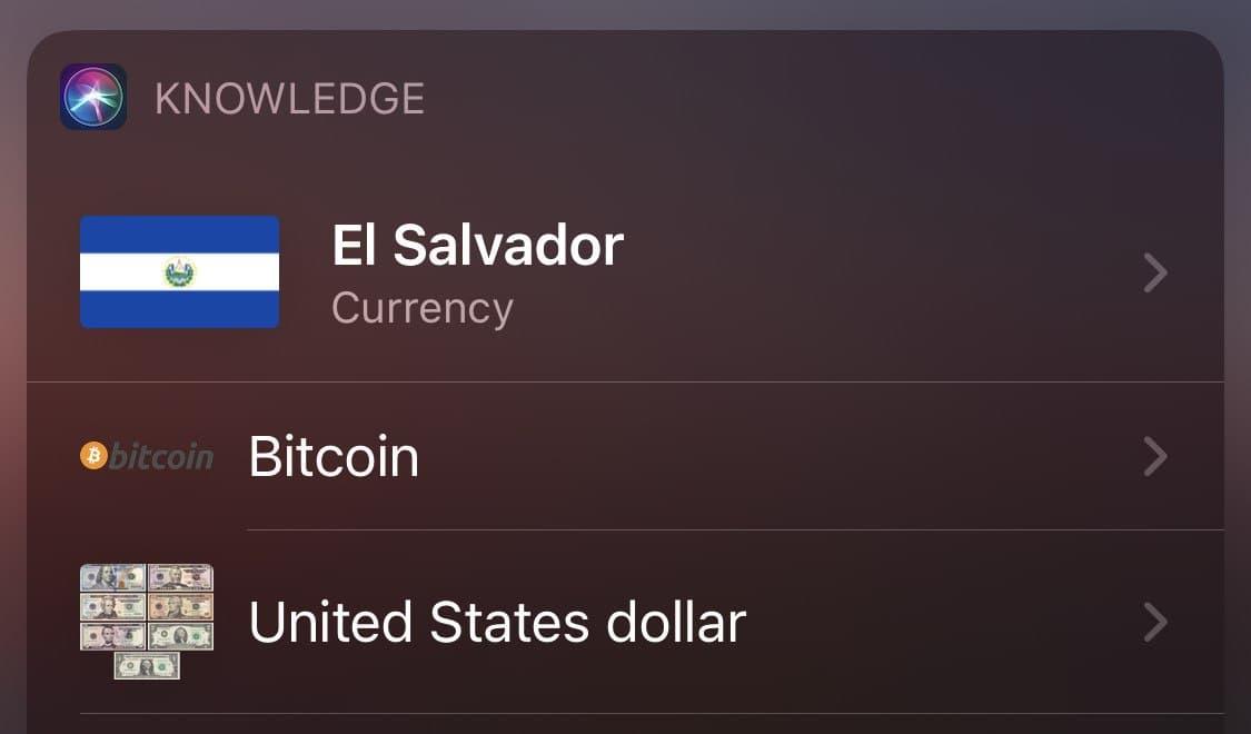 сальвадор биткоин валюта