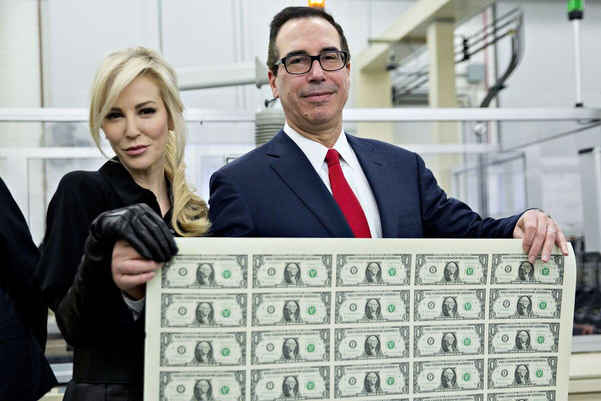 Мнучин министр финансов США